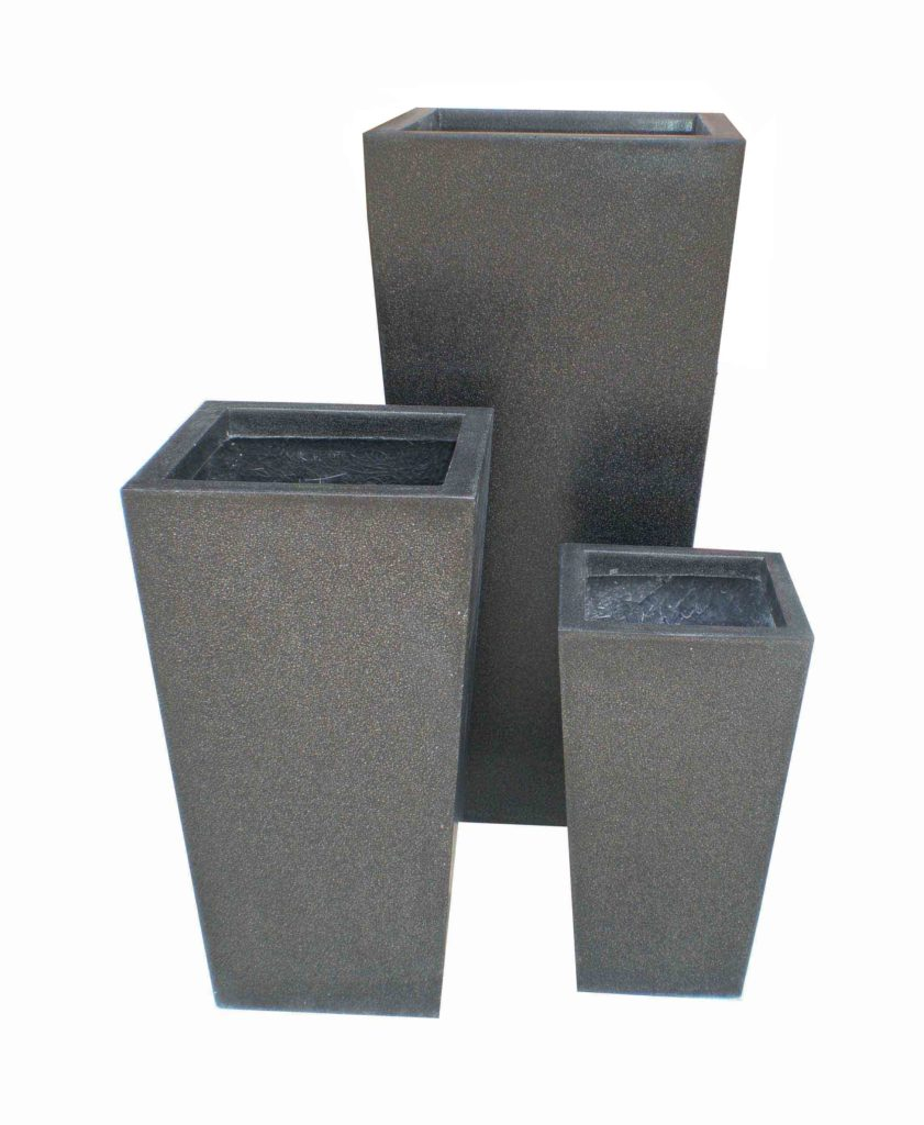 Lightweight Terrazzo Tapered Planters Planters And Pots