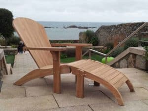 Cape Cod Chair and Footstool - Patio Loungers For Sale Dublin Ireland