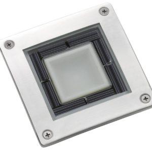 Solar Square Deck Light