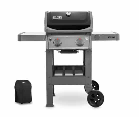 Weber Spirit II E-210 With BBQ Cover - Weber Gas Barbecues For Sale Dublin Ireland