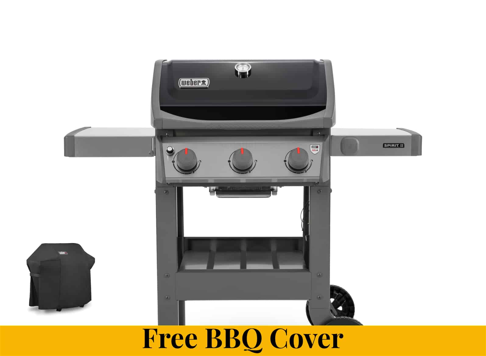 Weber Spirit II E-310 Gas Barbecue + HALF PRICE BBQ COVER - Weber Gas Barbecues For Sale Dublin Ireland