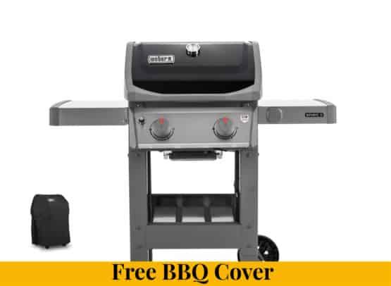 Weber Spirit II E-210 Gas Barbecue + Half Price Cover - Weber Gas Barbecues For Sale Dublin Ireland