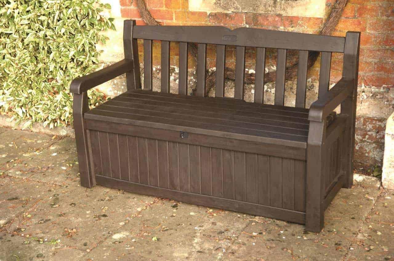 Iceni Storage Bench 17190198 Plastic Outdoor Storage Solutions