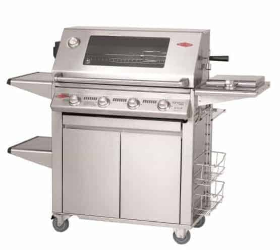 "Beefeater Signature S3000S Series 19750UK 5 Burner & Side Burner ""Plus"" (Cast Iron pack)"