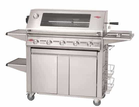 "Beefeater Signature S3000S Series 19650UK 5 Burner & Side Burner ""Plus"" (Cast Iron pack)"