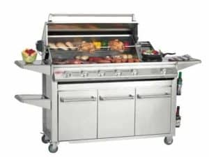Beefeater Signature SL4000S Series 30060UK 6 Burner & Side Burner (StainlessSteel pack)