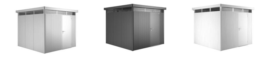 Erstaunlich Highline Biohort Garden Shed   Metal Sheds   Garden Storage  WA03