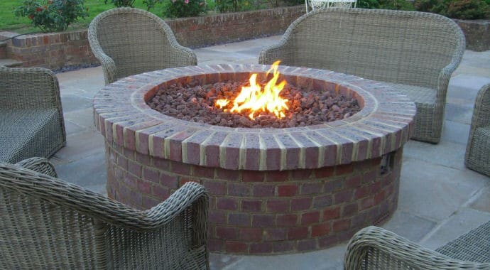 Gas Fire Kits Outdoor Fires
