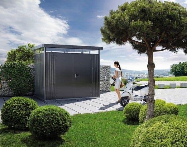Erstaunlich Highline Biohort Garden Shed | Metal Sheds | Garden Storage  ZJ81