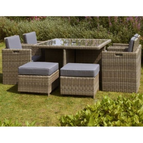 Outdoor garden furniture dublin ireland wentworth 4 seat cube set - Garden furniture dublin ...