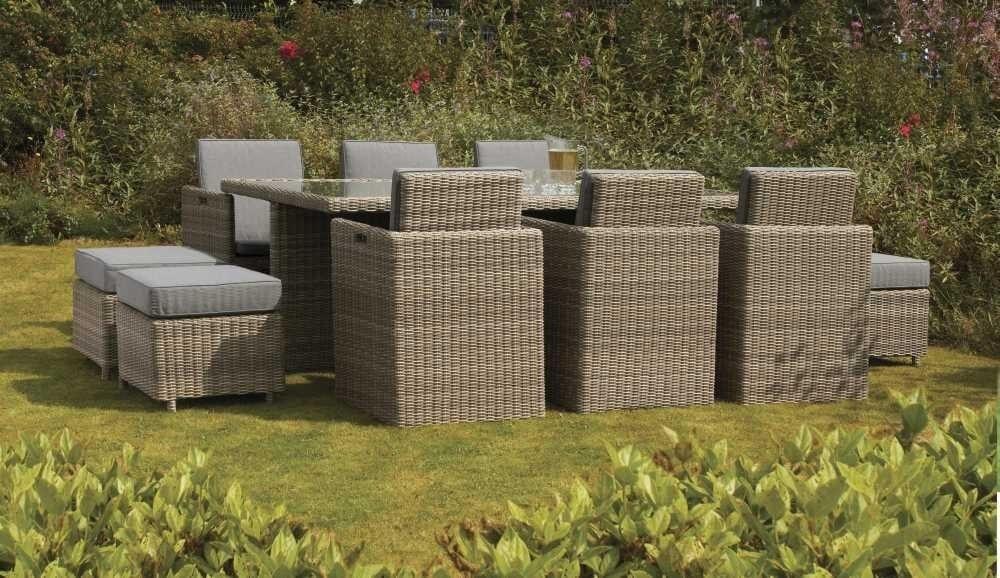 Outdoor garden furniture dublin ireland wentworth 6 seat cube set - Garden furniture dublin ...