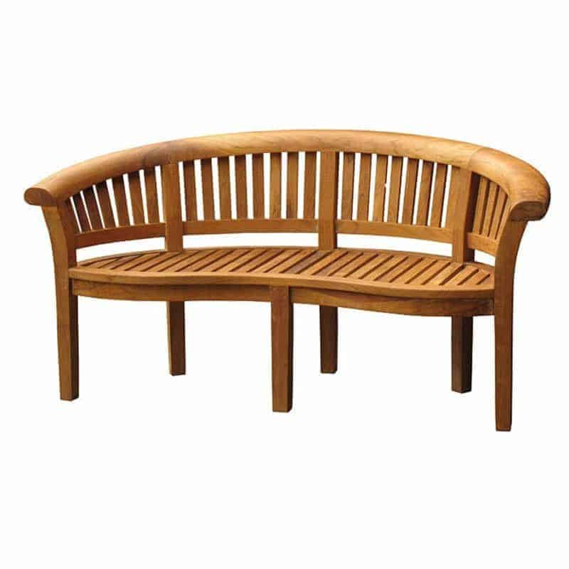 windsor peanut teak garden bench 165cm - Garden Furniture Dublin