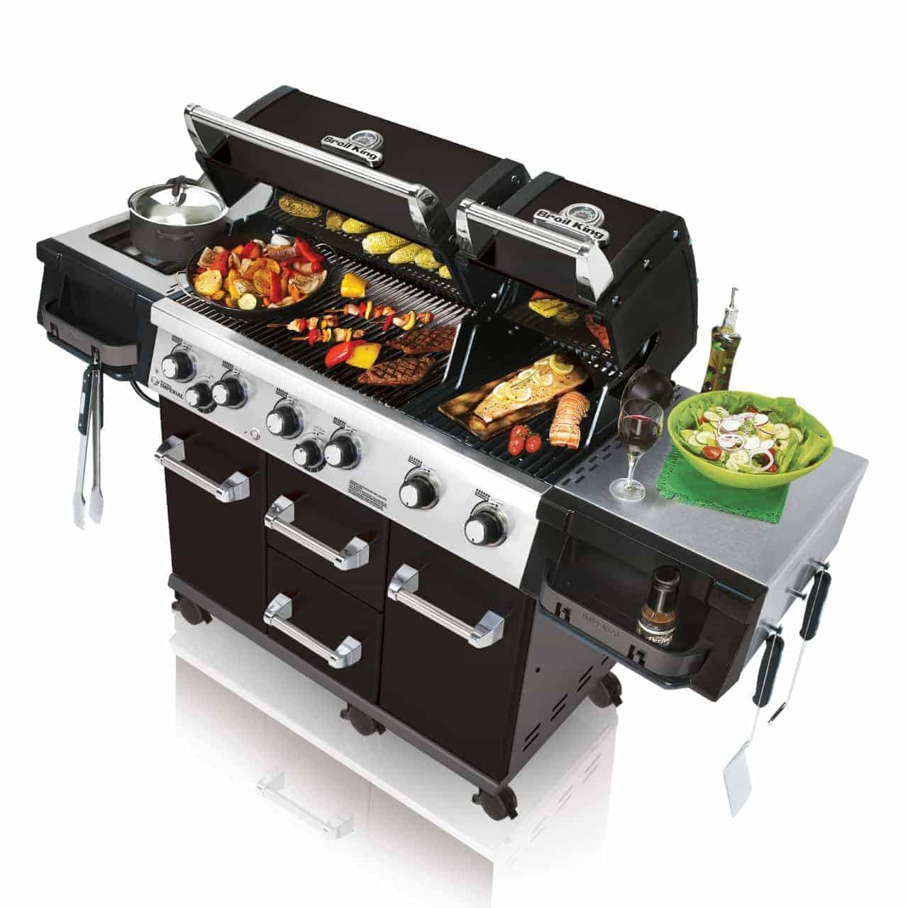 Broil King Imperial Xls Black 957743 All Gas Barbecues