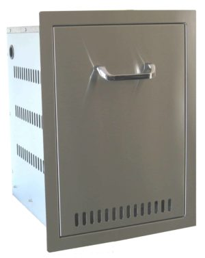 24210 Beefeater Built in Stainless Steel Propane Bottle Drawer