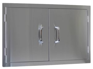 23150 Beefeater Built in Stainless Steel Double Door