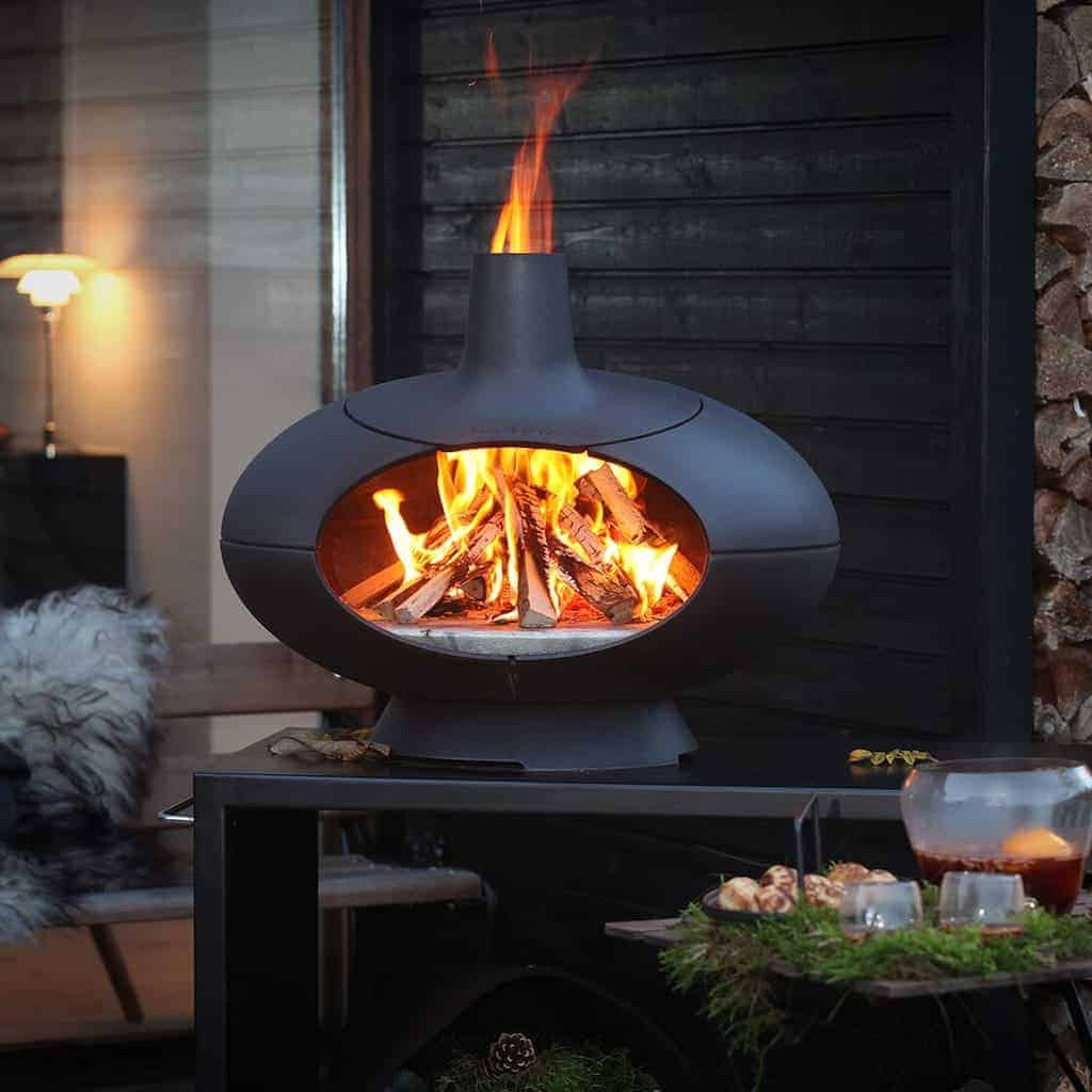 chiminea clay outdoor fireplace dact us