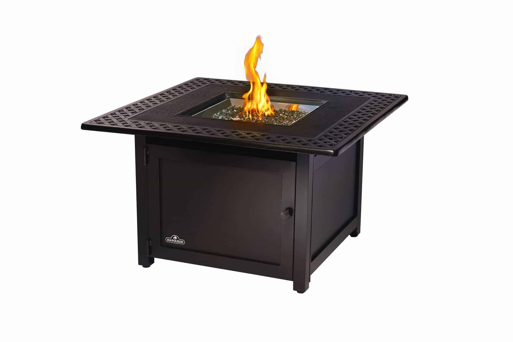 Victorian Square Outdoor Gas Fire Table Outdoor Heating Outdoor Ie