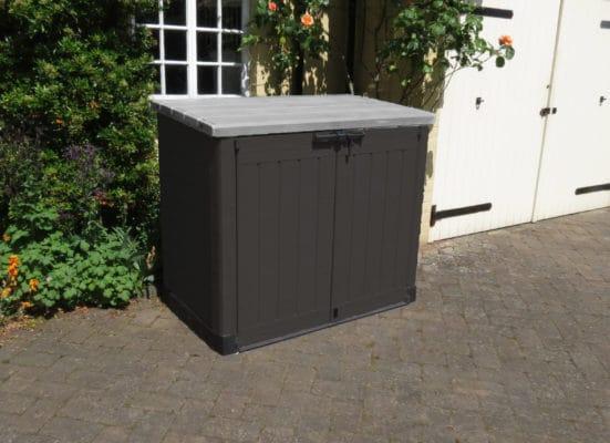 Celtic storage box 17199852 plastic outdoor storage for Garden storage solutions