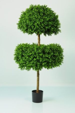 Artificial Boxwood 2-Ball Special