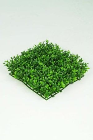 Artificial Boxwood Tile 25cm