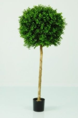 Artificial Boxwood Ball on Stem 4ft