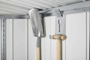 Tool Hanger For Garden Sheds And Equipment locker, 4 Pcs.
