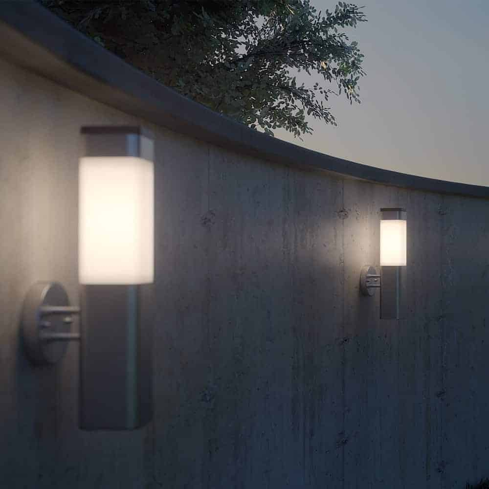Solar Patio Wall Lights : Kodiak Solar Powered Wall Light SS9901 Outdoor Lighting Outdoor.ie
