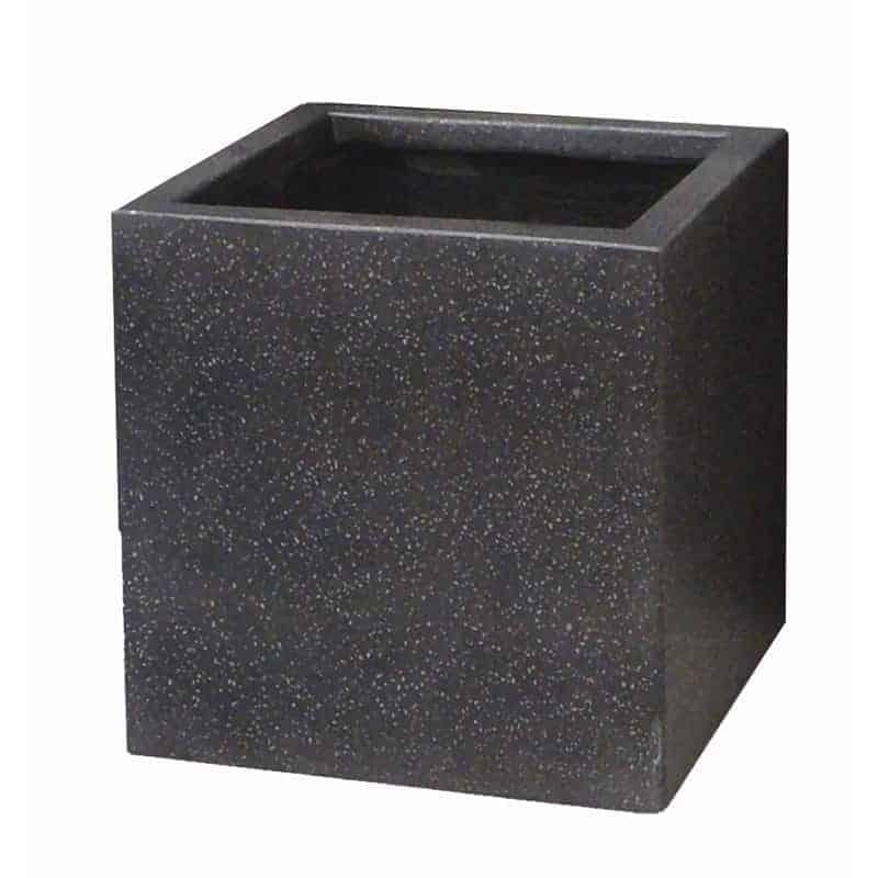 Cube Planters: Lightweight Terrazzo Cube Planters