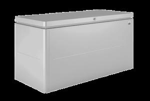 Lounge Storage Box Metallic silver