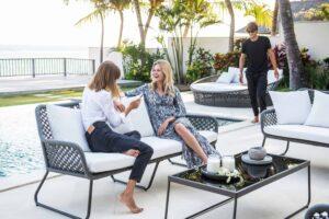 Palma 2 Seater Outdoor Sofa Set