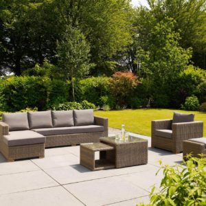 Outdoor Garden Furniture Sofa Sets and Lounging