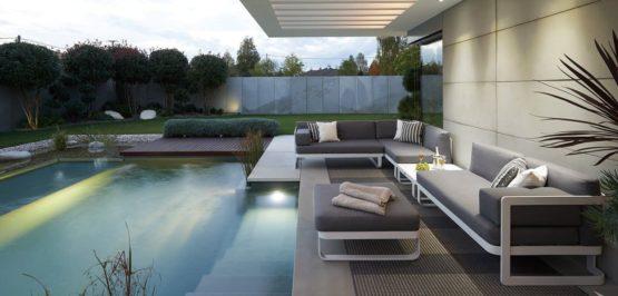 VERONA White Frame - Outdoor Furniture For Sale Dublin Ireland