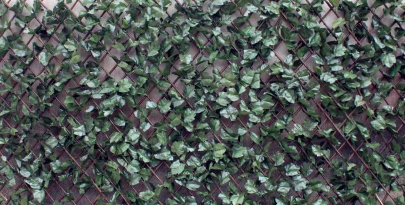 Wonderwal artificial hedge screening tile american beech for Outdoor wall coverings garden