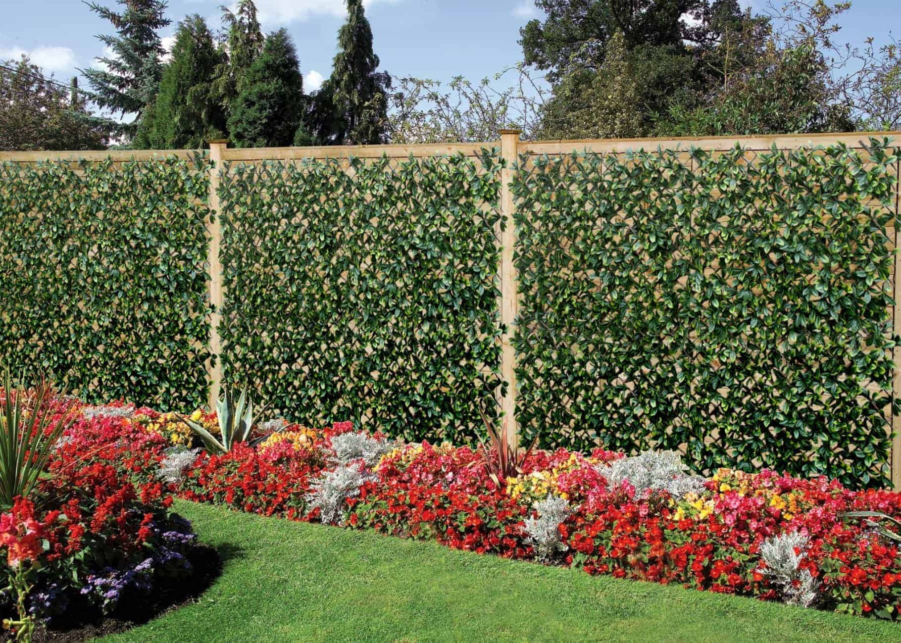 Artificial hedge wall coverings artificial hedge for Outdoor garden