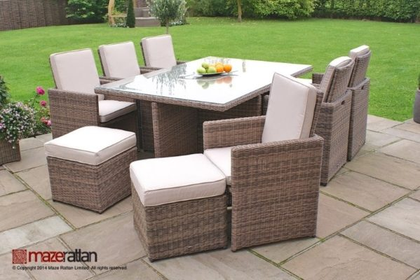garden furniture dining sets - Garden Furniture Dublin