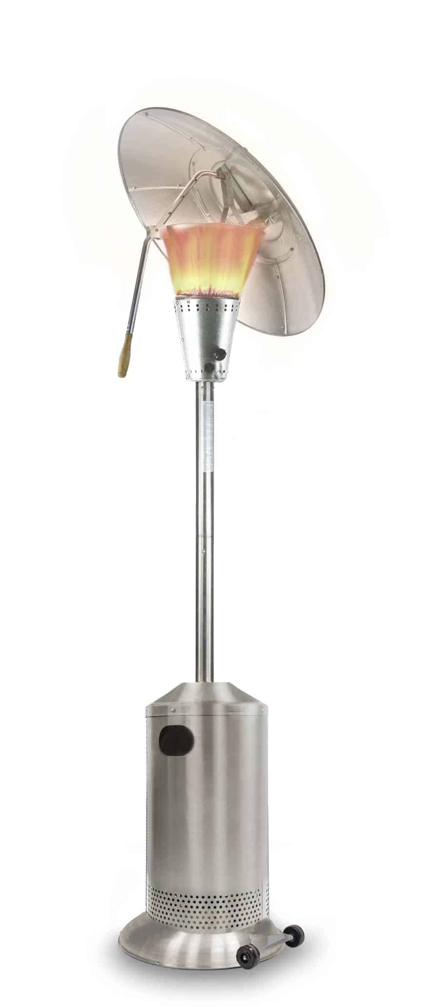 tilt heater heat stainless patio silver steel product gas hood focus high res lightbox
