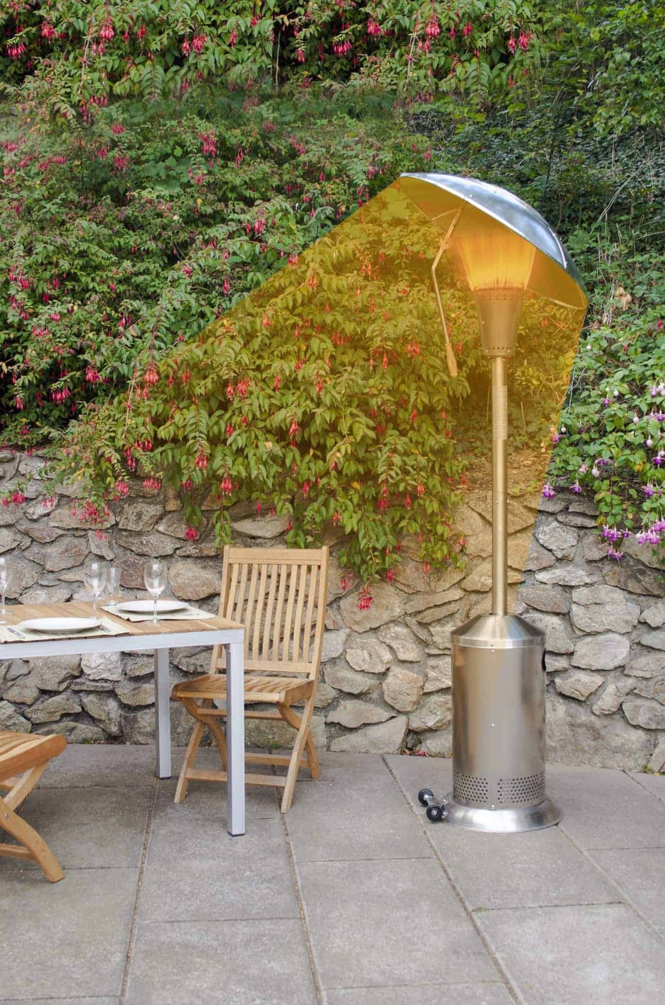 15kw Gas Patio Heater 15kw Stainless Steel Gas Patio