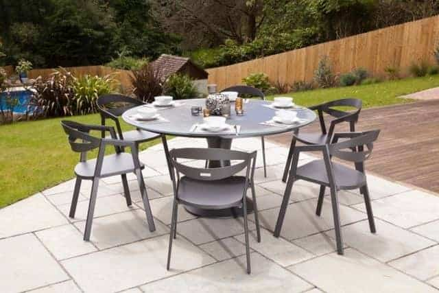 Garden Furniture Dublin outdoor garden furniture dublin ireland | fano 150cm 6 seat dining