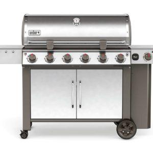 Weber Gas Barbecues Ireland - WEBER GENESIS® II LX S-640 GBS Stainless Steel 63004174