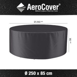 AeroCovers® Garden Dining Set Furniture Cover Round 250cm 7919