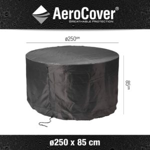7919-garden_set_cover_round-Ø250cm - Garden Furniture Covers For Sale Dublin Ireland