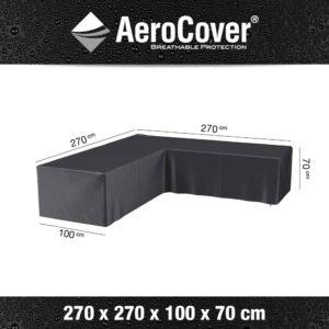AeroCovers® L-Shaped Garden Sofa Set Furniture Cover 270 x 270cm (7942)