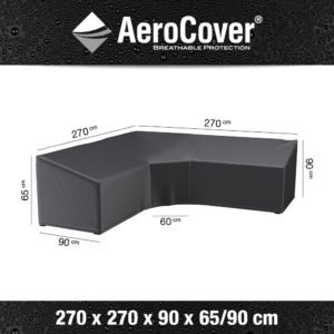AeroCovers® Garden L/Trapeze Shaped Sofa Set Furniture Cover 270 x 270cm (7956)
