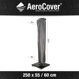 AeroCovers Free-Arm Parasol Cover