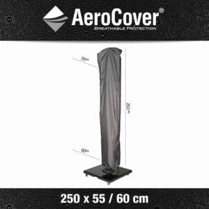 AeroCovers Free-Arm Garden Parasol Cover