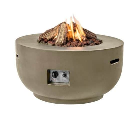 Outdoor Gas Fire Pit Taupe - Outdoor Heating Dublin Ireland