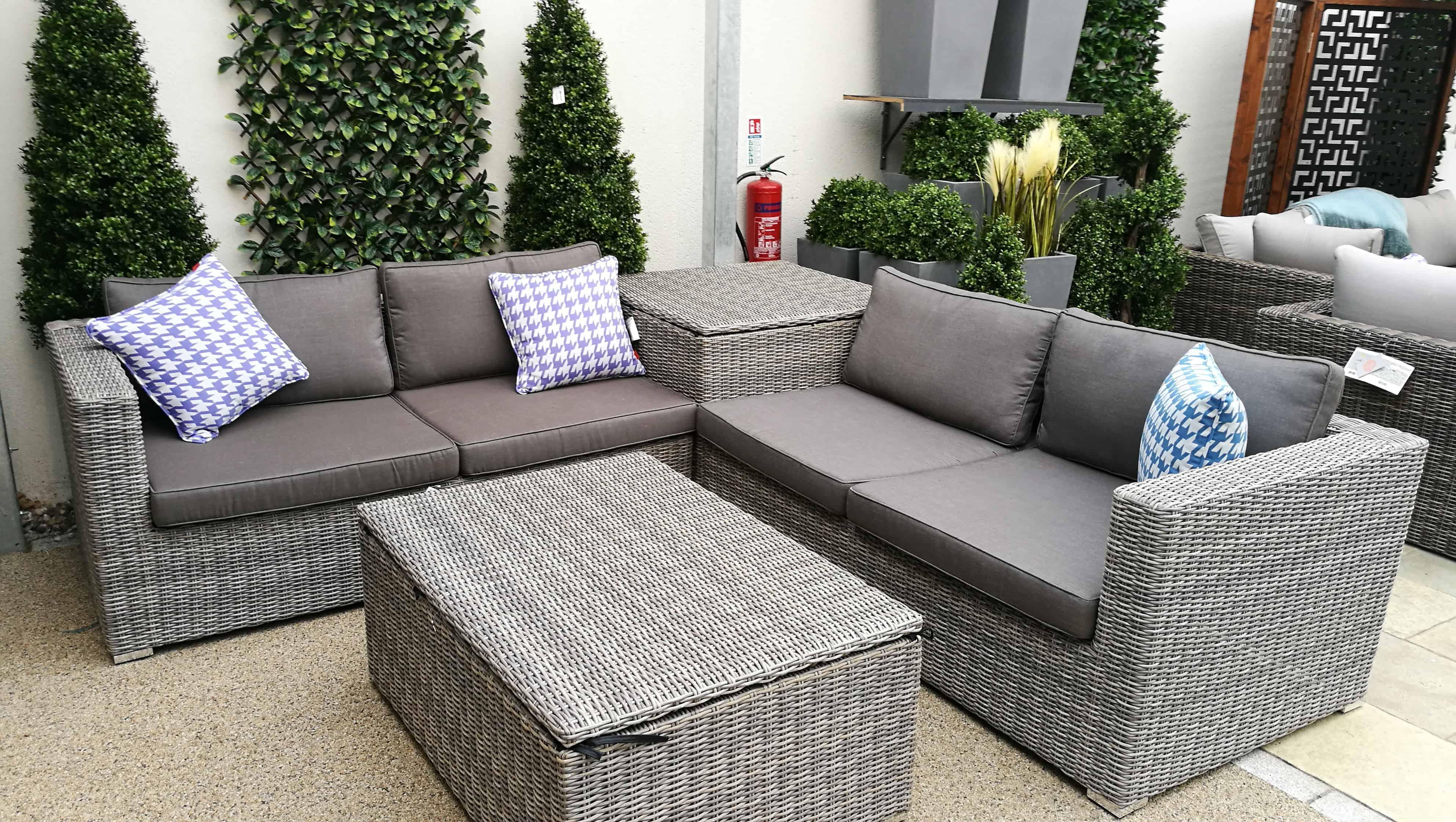 Saba Corner Lounge Set   Garden Furniture, Garden Sofa Sets and ...