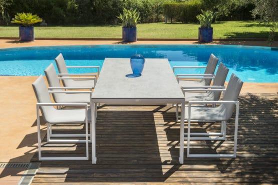 Fermo White2 - Outdoor Furniture For Sale Dublin Ireland