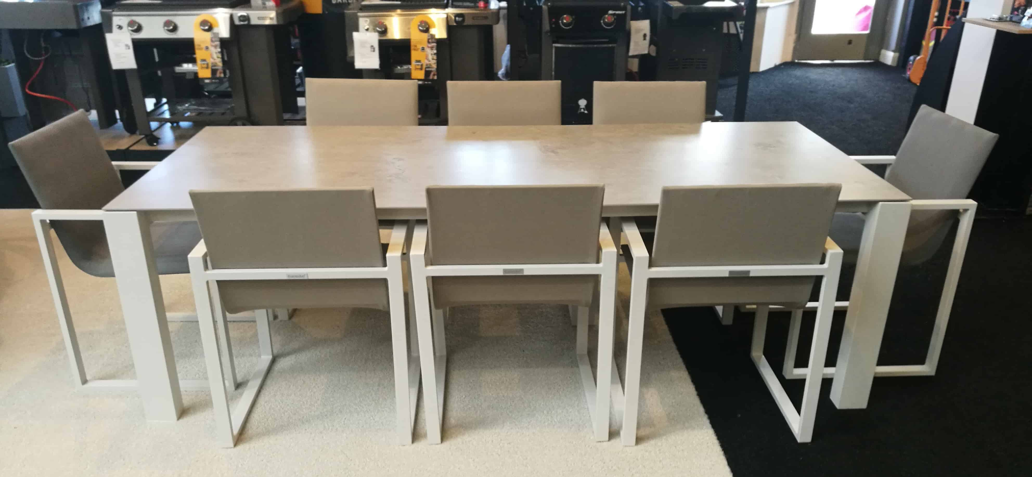 Fermo Dining Table Set With 8 Chairs