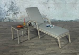 Porto lounger with table - Outdoor Furniture For Sale Dublin Ireland